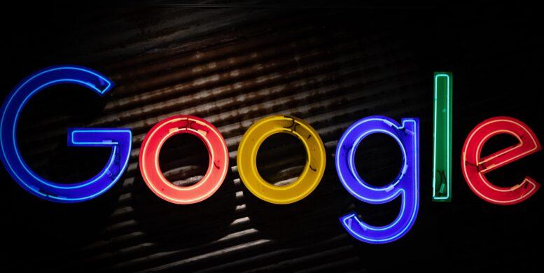 Beitragsbild: Google-Logo als 3D-Objekt